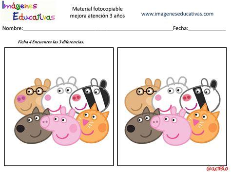 imagenes educativas material fotocopiable 4 años actividades para mejorar la atenci 243 n 3 a 241 os p 225 gina 05