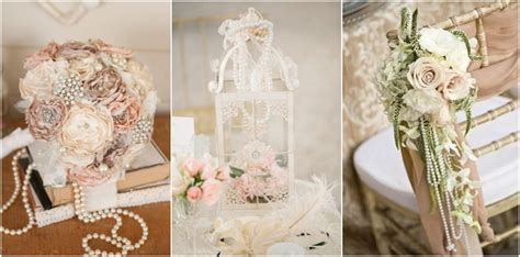 35 vintage wedding ideas with pearl details tulle chantilly wedding