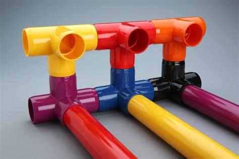 colored pvc color furniture grade pvc fittings now available