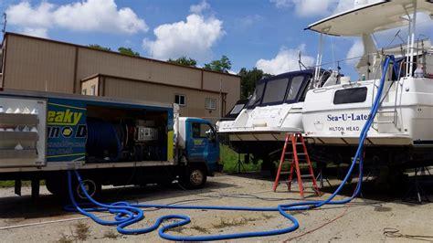 Interior Boat Cleaning by Interior Boat Cleaning Squeaky Clean