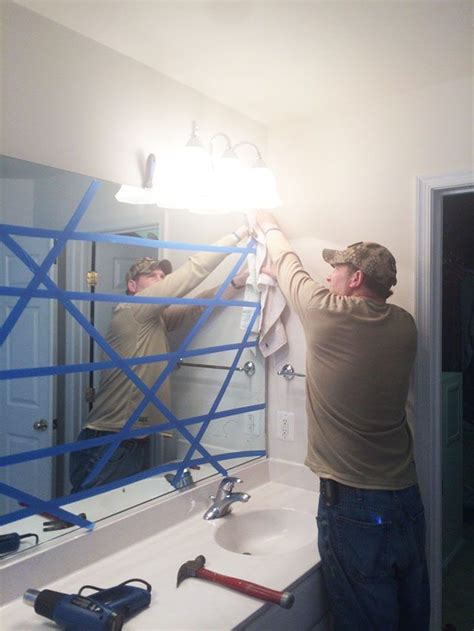 how to remove large bathroom mirror 25 best bathroom mirrors ideas on pinterest farmhouse
