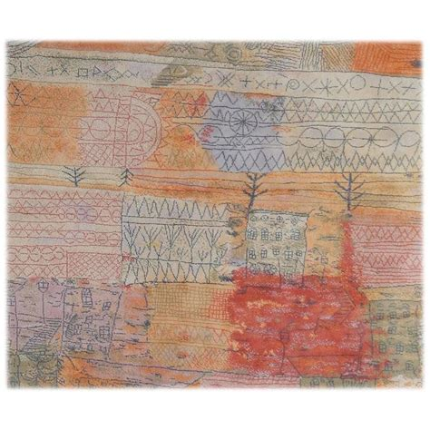 large wool area rugs large wool ege area rug paul klee design 1926 quot florentinisches villenviertel quot for sale at 1stdibs