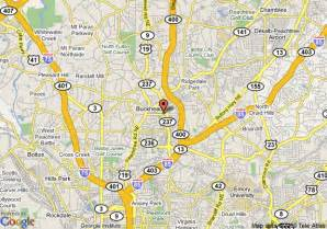 map of staybridge suites buckhead atlanta