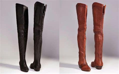 report signature columbus thigh high flat boots