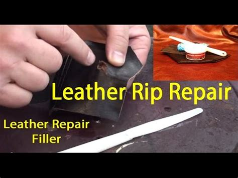leather repair filler leather tear repair   fix