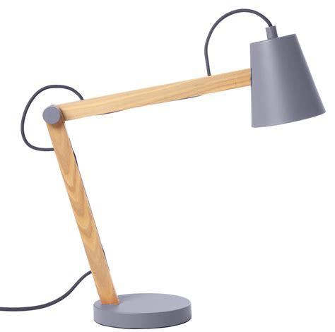 Lampe de table Play Gris / Bois clair   Frandsen