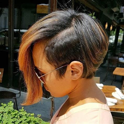 black hair edgy haircuts this cut is so edgy mrskj love it atlstylist