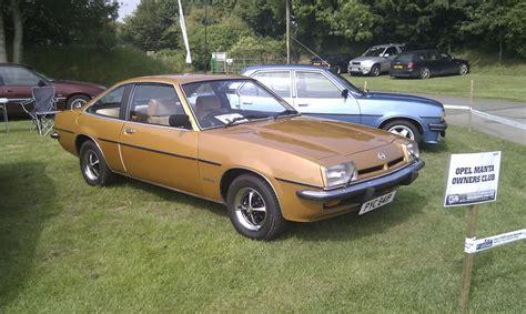 1976 Opel Manta Photos Informations Articles