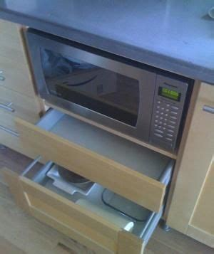 ikea cabinet microwave drawer best 25 built in microwave ideas on cabinets