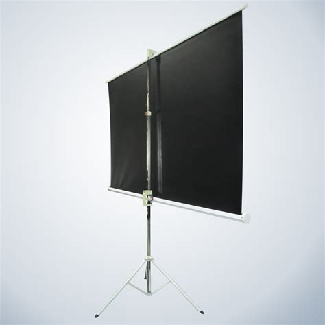 Tripod Projector Stand portable 100 quot 70 quot x 70 quot tripod pull up projection