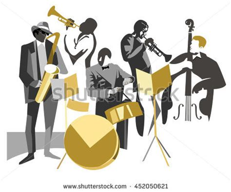 gruppi swing jazz stock images royalty free images vectors