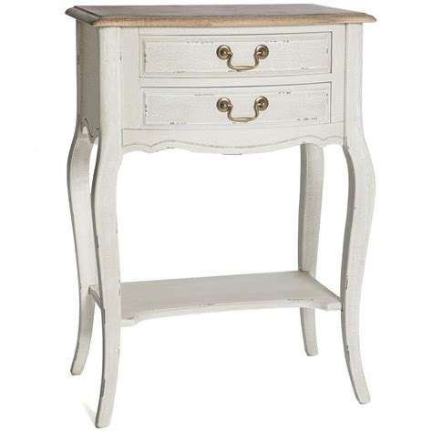 white shabby chic bedside table poitiers white shabby chic bedside table bedroom