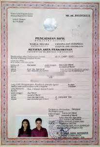 Sample Letter Certification Marriage How To Get Married Legally In Bali