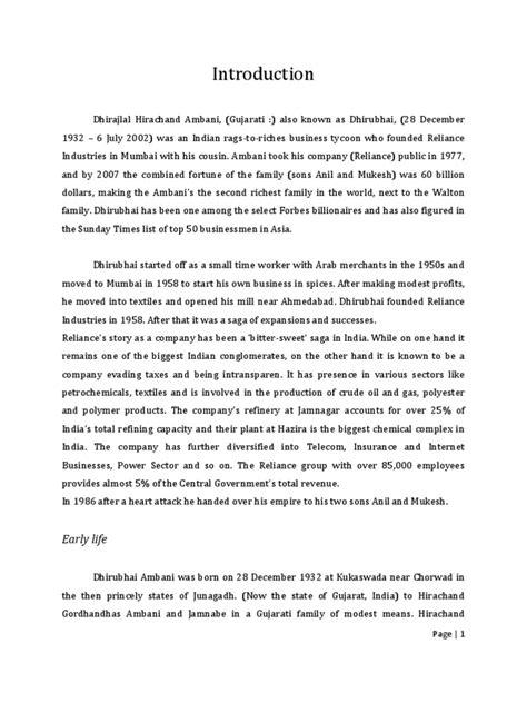 biography in hindi pdf dhirubhai ambani biography in hindi pdf free download