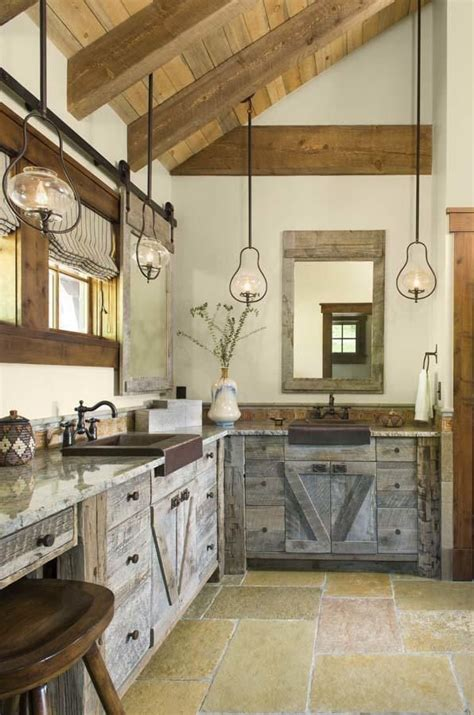 inviting ranch style home offers rustic warmth