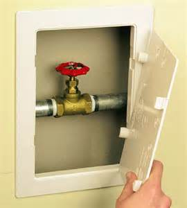 how to turn on outside faucet can t find inside valve faucet to turn water to