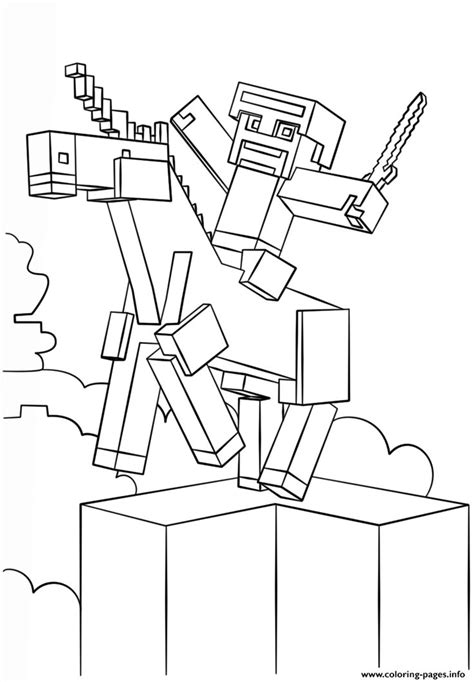 coloring pages of minecraft 25 best minecraft coloring pages images by scribblefun on