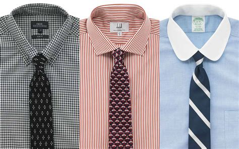 Collar Shirt a visual guide to shirt collars the gentlemanual a