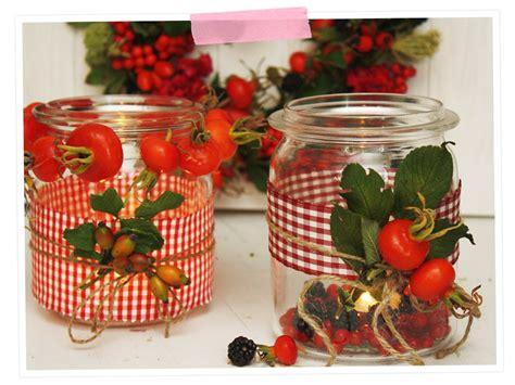 weckglas deko herbst herbstzauber dekoration mit den sch 228 tzen der natur