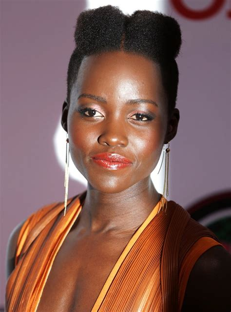 is the afro glamorous lupita nyong o and other stars