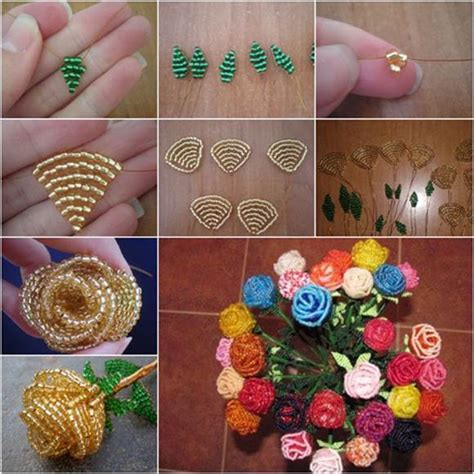 how to make your home beautiful how to diy beautiful beaded rose