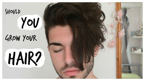 how to grow mens hair so it han be long on top and faded on sides men s hair should you grow out your hair youtube