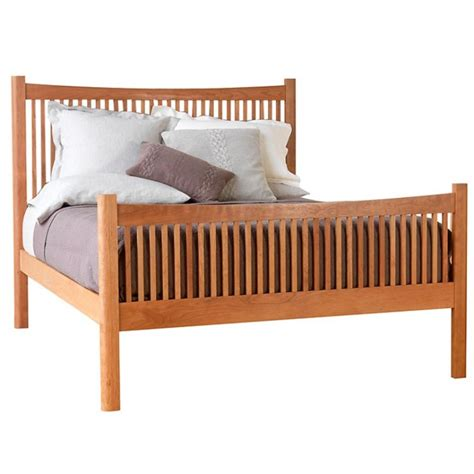 Footboard Bed by Modern Shaker High Footboard Platform Bed Optional
