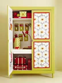 Craft Storage Armoire Small Space Storage 15 Creative Ideas
