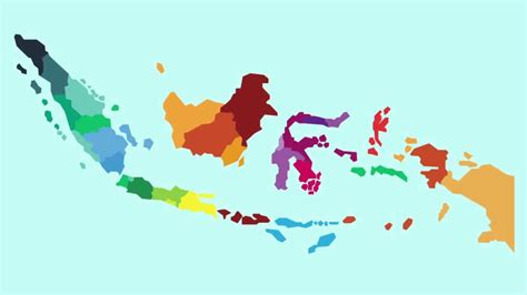 peta indonesia animasi peta indonesia map