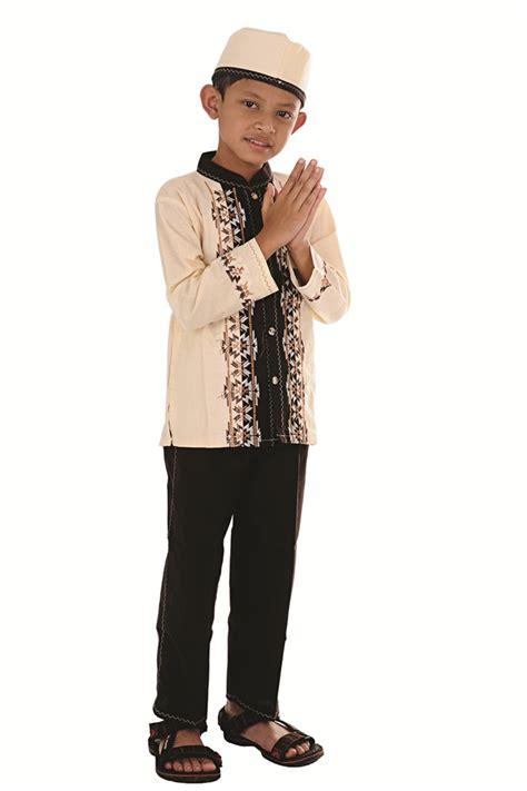 Baju Koko Muslim Anak Cowok Baju Takwa Anak Laki Kemeja Anak Ka3 tren baju muslim anak laki laki dan perempuan awal tahun