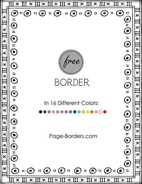 how to change border color free border doodle customize and then or