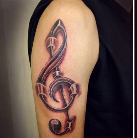tattoo treble clef designs 30 staggering treble clef designs creativefan