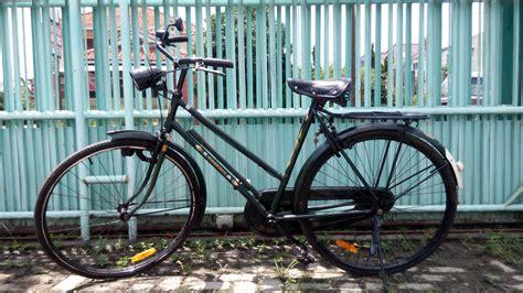 Sepeda Keranjang Onthel jual sepeda onthel bekas sepeda onthel