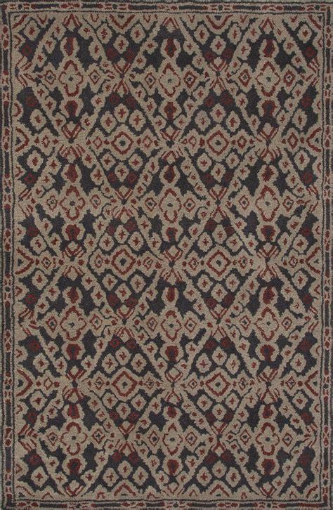 tribal pattern rug jaipur rugs modern tribal pattern black wool area rug