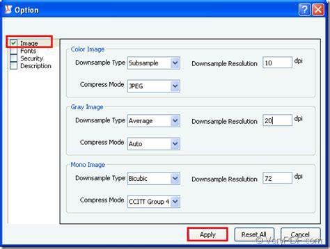 compress pdf resize resize image in a pdf verypdf knowledge base