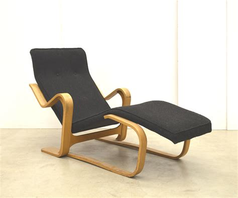 Chaise Marcel Breuer by Chaise Longue Vintage De Marcel Breuer Pour Isokon