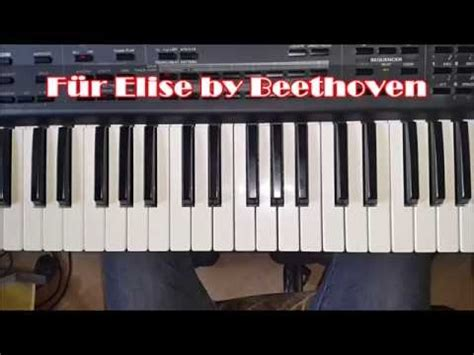 tutorial piano beethoven beethoven f 252 r elise easy piano tutorial how to play fur