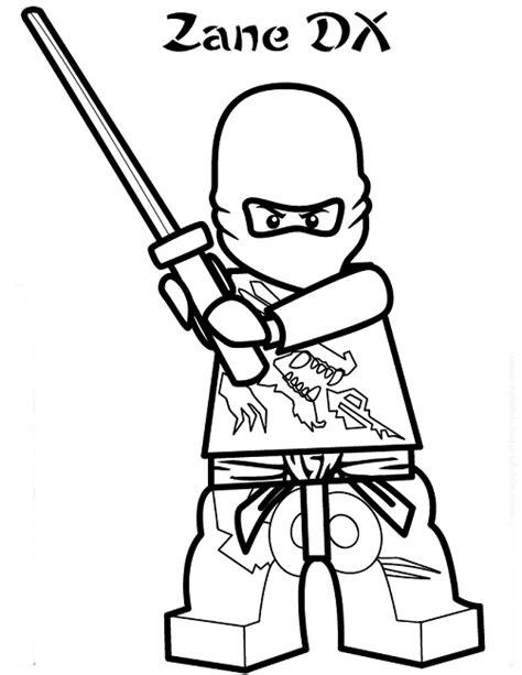 coloring pages ninjago zane lego ninjago coloring pages zane movie pinterest