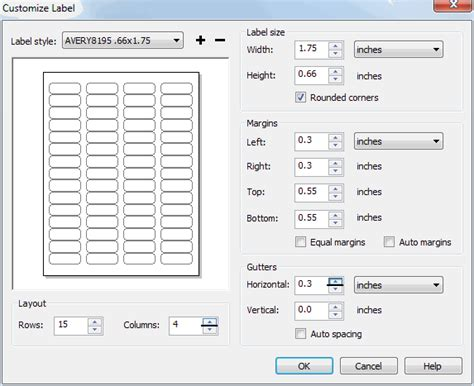avery 8195 template avery labels coreldraw graphics suite x4 coreldraw