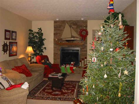 arrange living room with christmas tree christmas tree placement in small living room