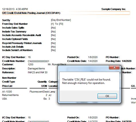 Sql Credit Note Format 300 Erp 2012 Report Issues Fixed With Net With Sp8 300 Support And