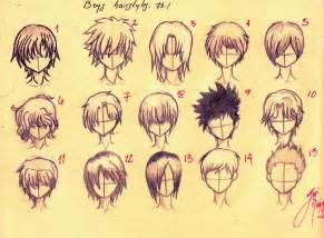 Anime Hairstyles Anime Hairstyles Drawing Hairstyles Ideas