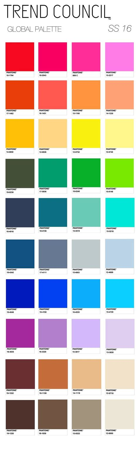 colors for 2016 91 best images about spring summer 2016 color on pinterest
