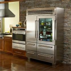 Commercial Fridge Glass Door Commercial Refrigerator From Sub Zero 174 Model With Glass Door Architecture Kitchens