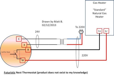 nest thermostat wiring diagram for steam boiler