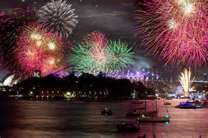 sydney harbour new year s fireworks 2016 firework times