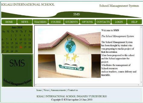 design of management system memoire online design and implementation school