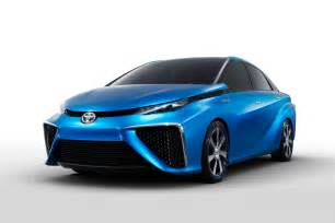 Toyota Of Cars Toyota To Bring Fuel Cell Concept Car To Ces Cio