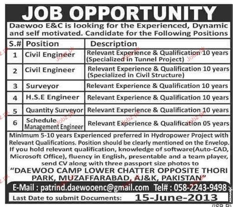 Online Civil Engineering Jobs Work From Home - civil engineers surveyors hse engineers job opportunity 2018 jobs pakistan jobz pk