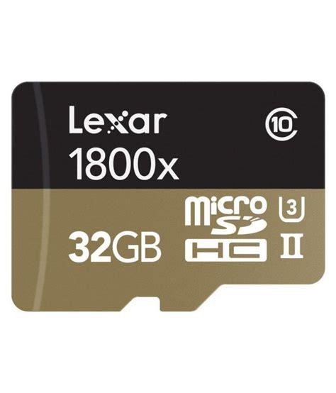 Memory V 128gb lexar professional 1800x 32 gb micro sdhc class 10 270 mb s memory card memory cards at